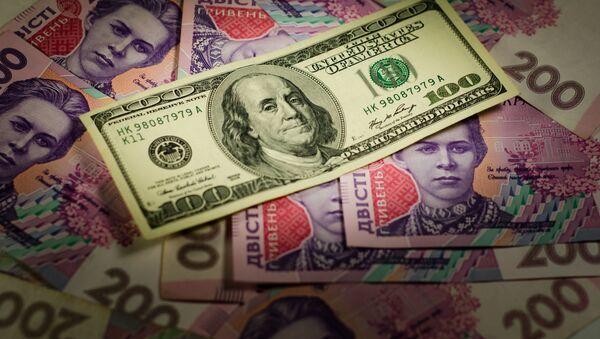 Dolar na ukrajinských hřivnách - Sputnik Česká republika