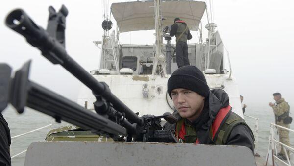 Ukrajinští pohraničníci - Sputnik Česká republika