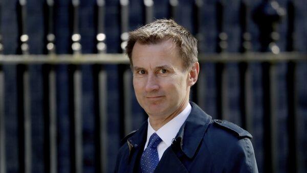 Ministr zahraničních věcí Velké Británie Jeremy Hunt - Sputnik Česká republika