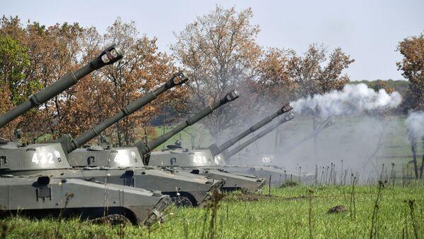 Palba dělostřelců. Ilustrační foto - Sputnik Česká republika