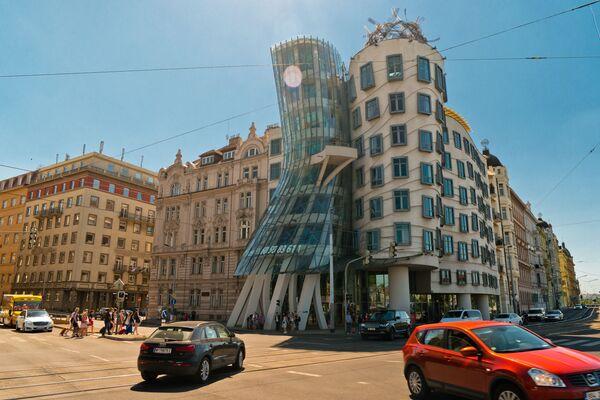 Tančící dům a dům ve tvaru vejce: Zázraky architektury z celého světa - Sputnik Česká republika