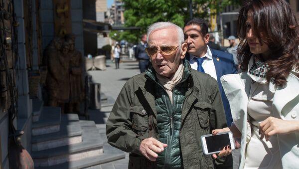 Charles Aznavour - Sputnik Česká republika