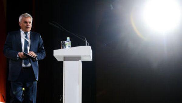 Prezident ruské ropné společnosti Lukoil Vagit Alekperov na 21. světovém ropném kongresu - Sputnik Česká republika