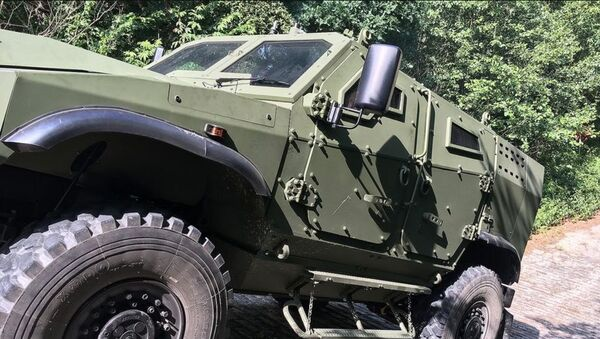 Obrněný transportér Zetor Gerlach 4x4 - Sputnik Česká republika