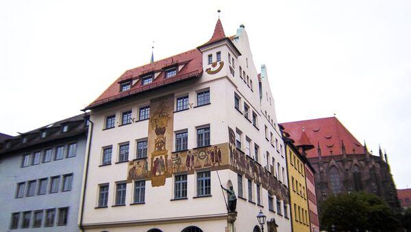 Norimberk. Smajlík na budově - Sputnik Česká republika