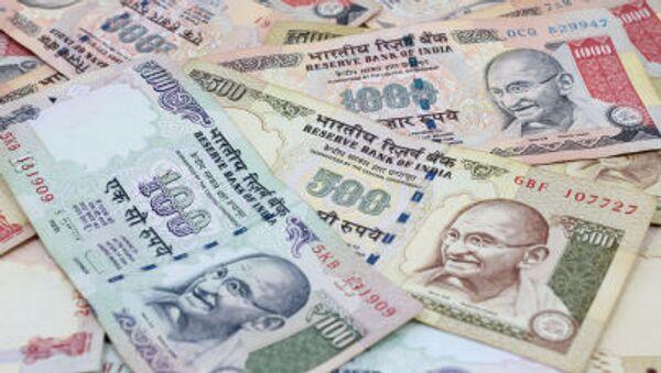 Индийские рупии - Sputnik Česká republika