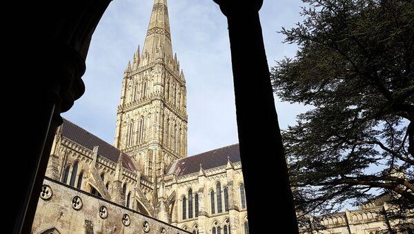 Salisburská katedrála ve Velké Británii - Sputnik Česká republika