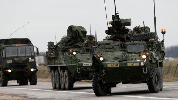 Obrněná vozidla Stryker - Sputnik Česká republika