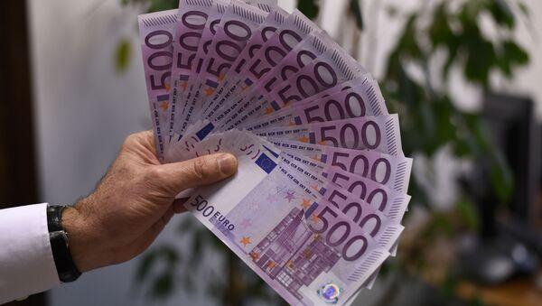Bankovky 500 eur - Sputnik Česká republika