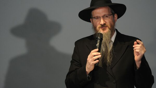 Hlavní ruský rabín Berl Lazar - Sputnik Česká republika
