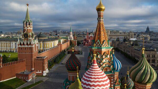 Kupole chrámu Vasila Blaženého na Rudém náměstí v Moskvě. Ilustrační foto - Sputnik Česká republika