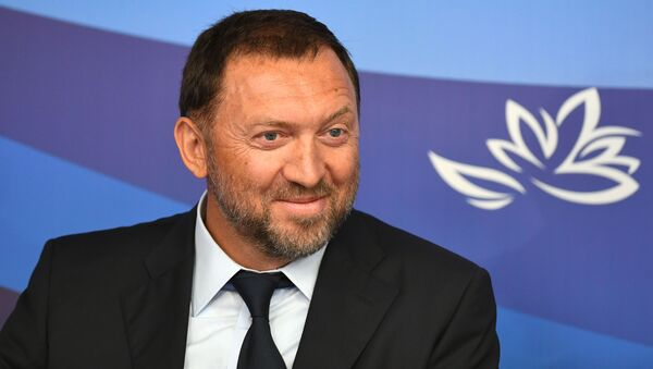 Byznysmen Oleg Deripaska - Sputnik Česká republika