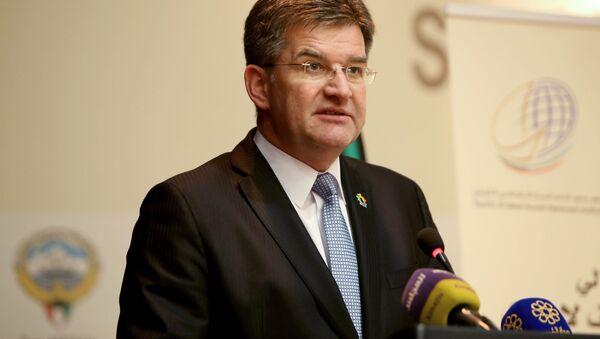 Slovenský ministr zahraničních věcí Miroslav Lajčák. Ilustrační foto - Sputnik Česká republika