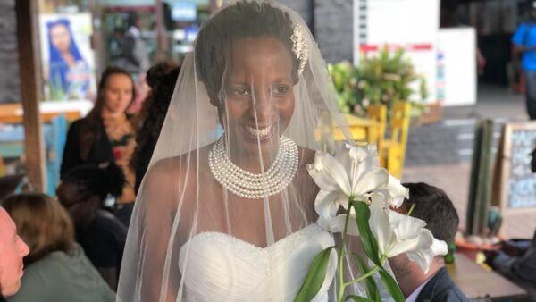 Студентка Оксфорда Лулу Джемиме из Уганды, вышедшая замуж за саму себя - Sputnik Česká republika