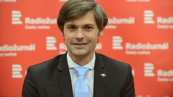 Český senátor Marek Hilšer - Sputnik Česká republika