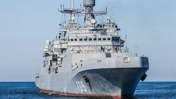 Velká výsadková loď Ivan Gren - Sputnik Česká republika