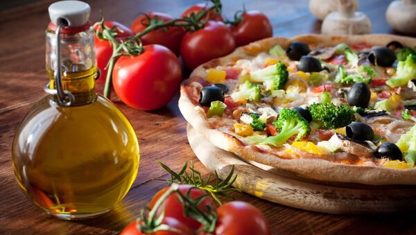 Pizza se zeleninou - Sputnik Česká republika