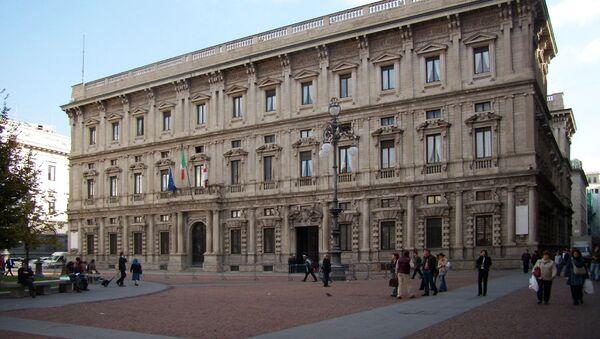 Paláce Palazzo Marino v Miláně, Itálie - Sputnik Česká republika