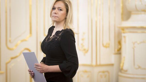 Slovenská ministryně vnitra Denisa Saková - Sputnik Česká republika