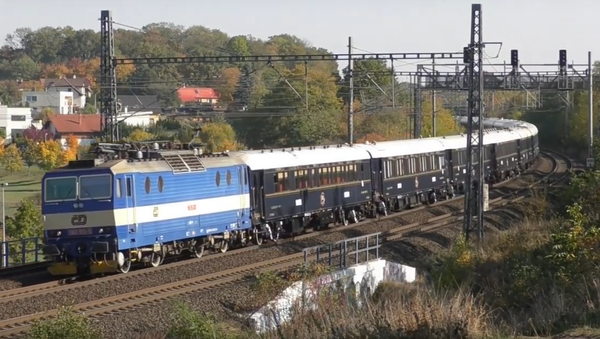 Orient Express projíždí Českem - Sputnik Česká republika