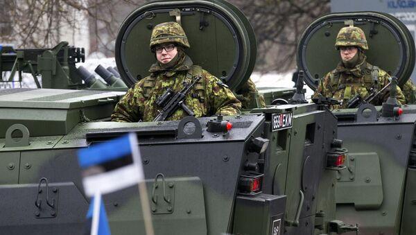 Estonská vojska - Sputnik Česká republika