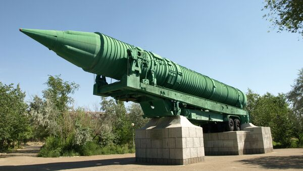 Mezikontinentální balistická střela MR-UR-100 - Sputnik Česká republika