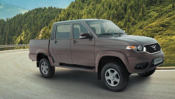 Obnovený UAZ Pick-up - Sputnik Česká republika