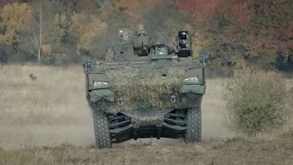 Slovenské obrněné vozidlo 8x8 Vydra - Sputnik Česká republika