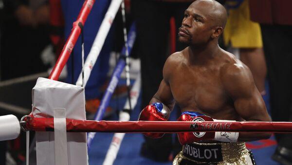 Americký boxer Floyd Mayweather - Sputnik Česká republika