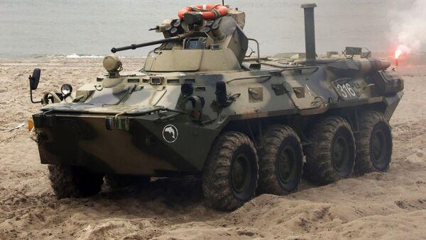 Taktická cvičení v Kaliningradské oblasti - Sputnik Česká republika