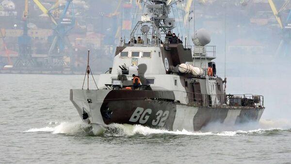 strážní loď 205P BG-32 Donbas - Sputnik Česká republika