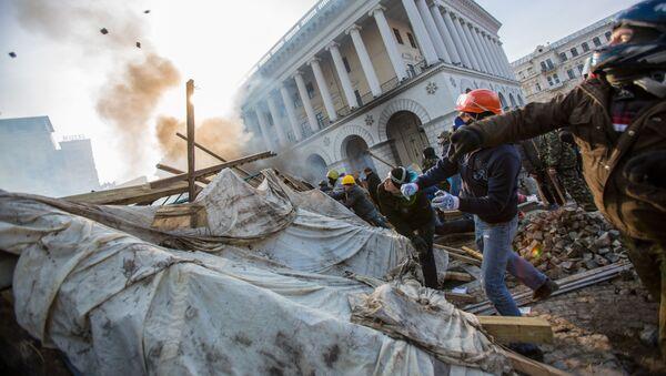 Euromajdan na Ukrajině - Sputnik Česká republika