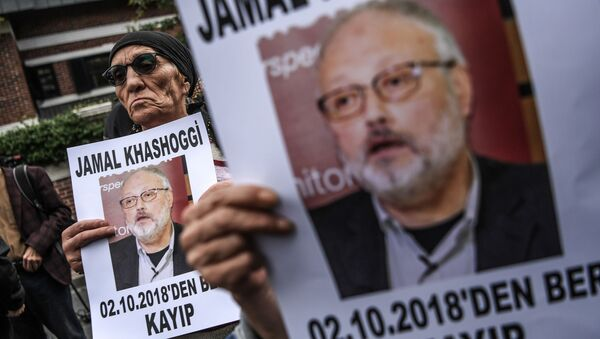 Novinář Džamál Chášukdží - Sputnik Česká republika
