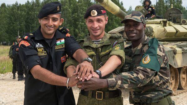 Armádní mezinárodní hry - Sputnik Česká republika