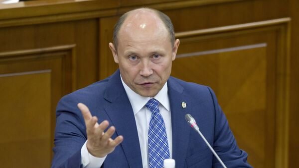Moldavský premiér Valeriu Strelet - Sputnik Česká republika