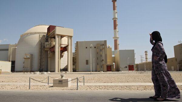 Jaderná elektrárna Búšéhr v Íránu - Sputnik Česká republika