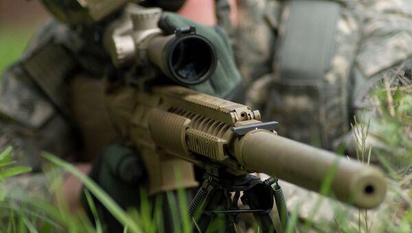 Odstřelovačská puška M110 Semi-Automatic Sniper System (SASS). - Sputnik Česká republika