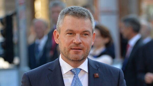 Slovenský premiér Peter Pelligrini - Sputnik Česká republika