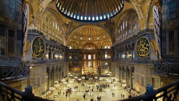 Hagia Sofia, Turecko - Sputnik Česká republika