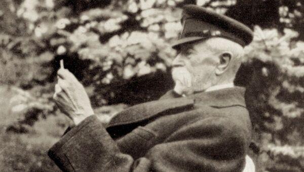 První prezident Československa Tomáš Garrigue Masaryk - Sputnik Česká republika