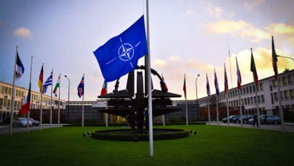Centrála NATO v Bruselu. - Sputnik Česká republika