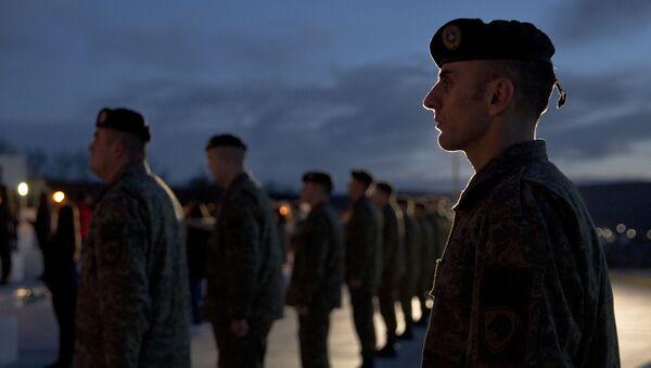 Vojáci v Kosovu - Sputnik Česká republika