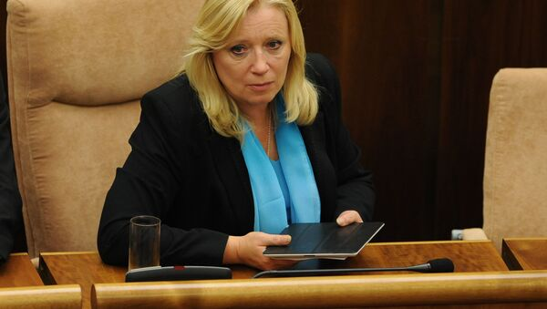 Bývalá premiérka Slovenska Iveta Radičová - Sputnik Česká republika