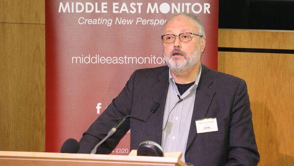 Saúdský novinář Džamál Chášukdží - Sputnik Česká republika