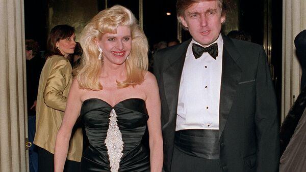 Americký prezident Donald Trump a jeho první žena Ivana - Sputnik Česká republika