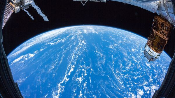 Země z paluby ISS - Sputnik Česká republika