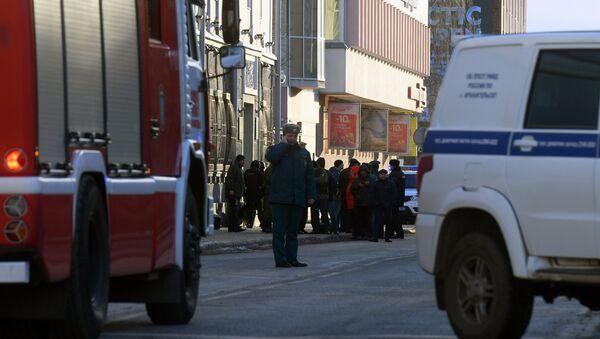 U budovy FSB v Archangelsku došlo k výbuchu. Místo události - Sputnik Česká republika