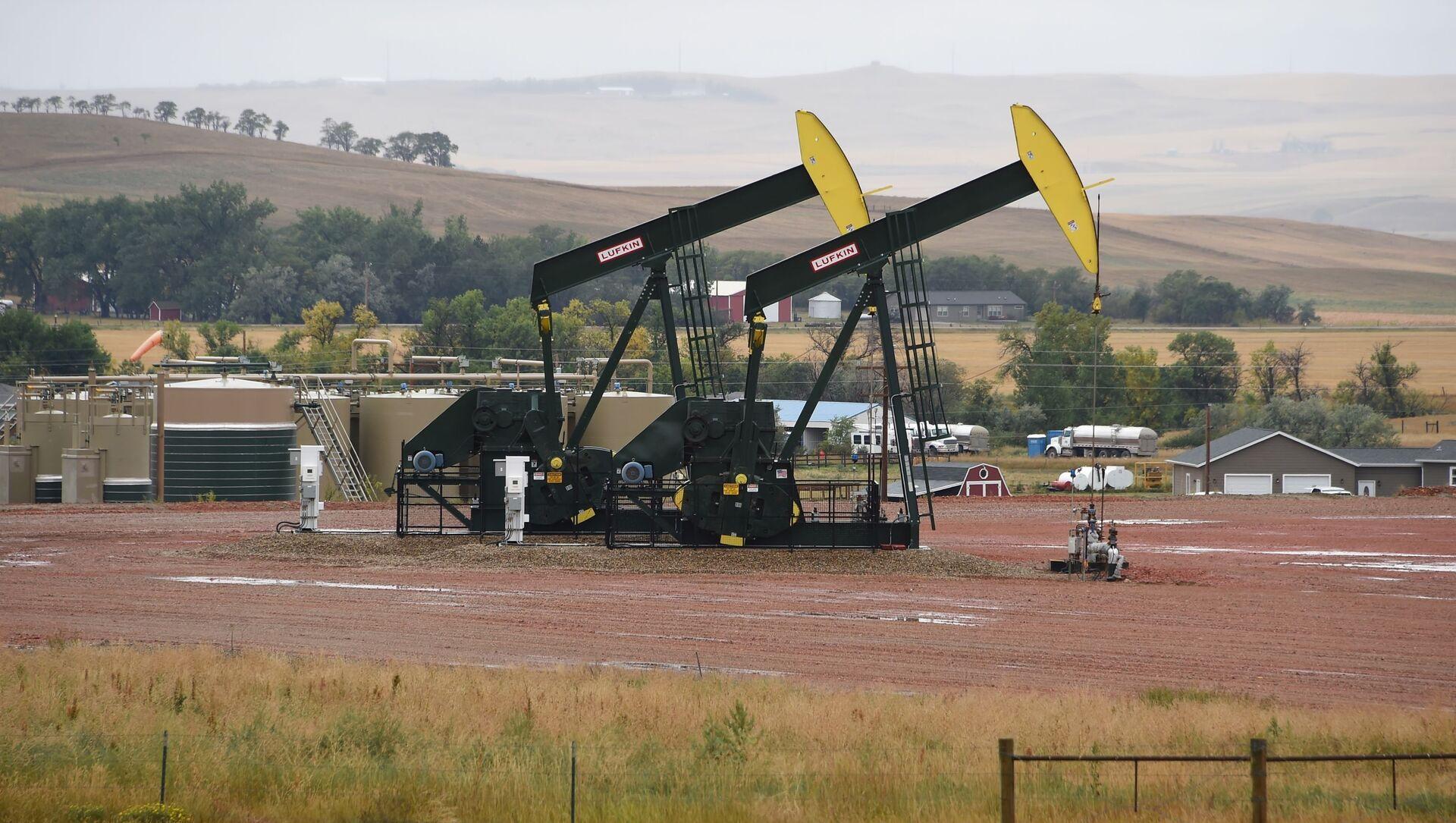 Těžba břidlicové ropy v USA. Ilustrační foto - Sputnik Česká republika, 1920, 25.03.2021