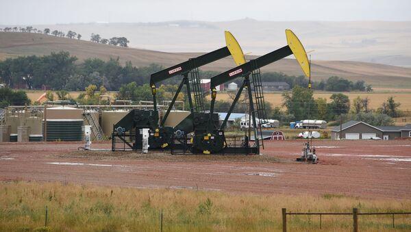Těžba břidlicové ropy v USA. Ilustrační foto - Sputnik Česká republika