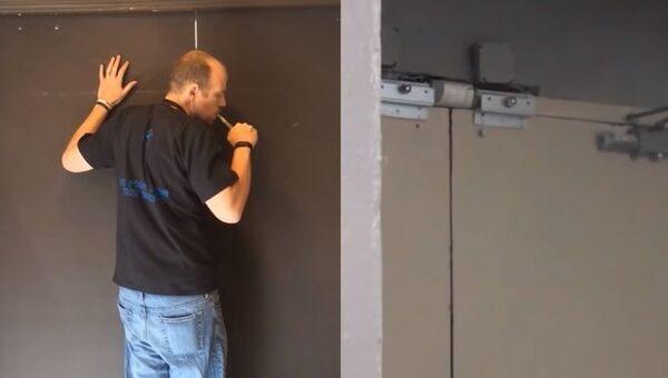 Jak pomocí dýmu otevřít automatické dveře - Sputnik Česká republika